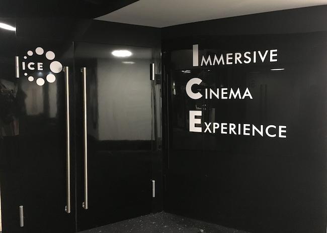 ICE by CGR, la nouvelle salle de cinéma immersive