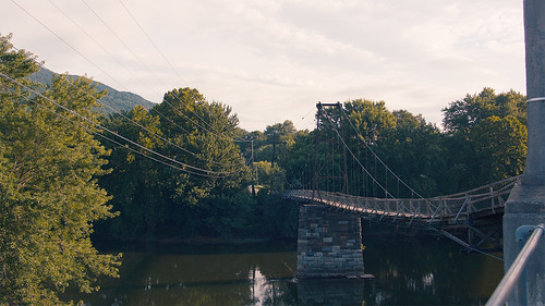 Swinging Bridge - Buchanan
