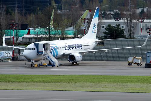 Boeing 737-866(WL) EgyptAir SU-GEH LN6379
