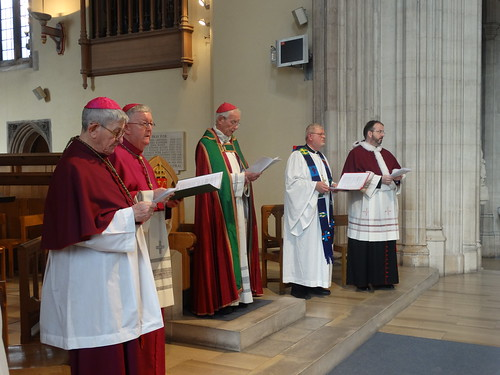170328 - Catholics and Lutherans hold joint service 500 years after Reformation at the Cathedral