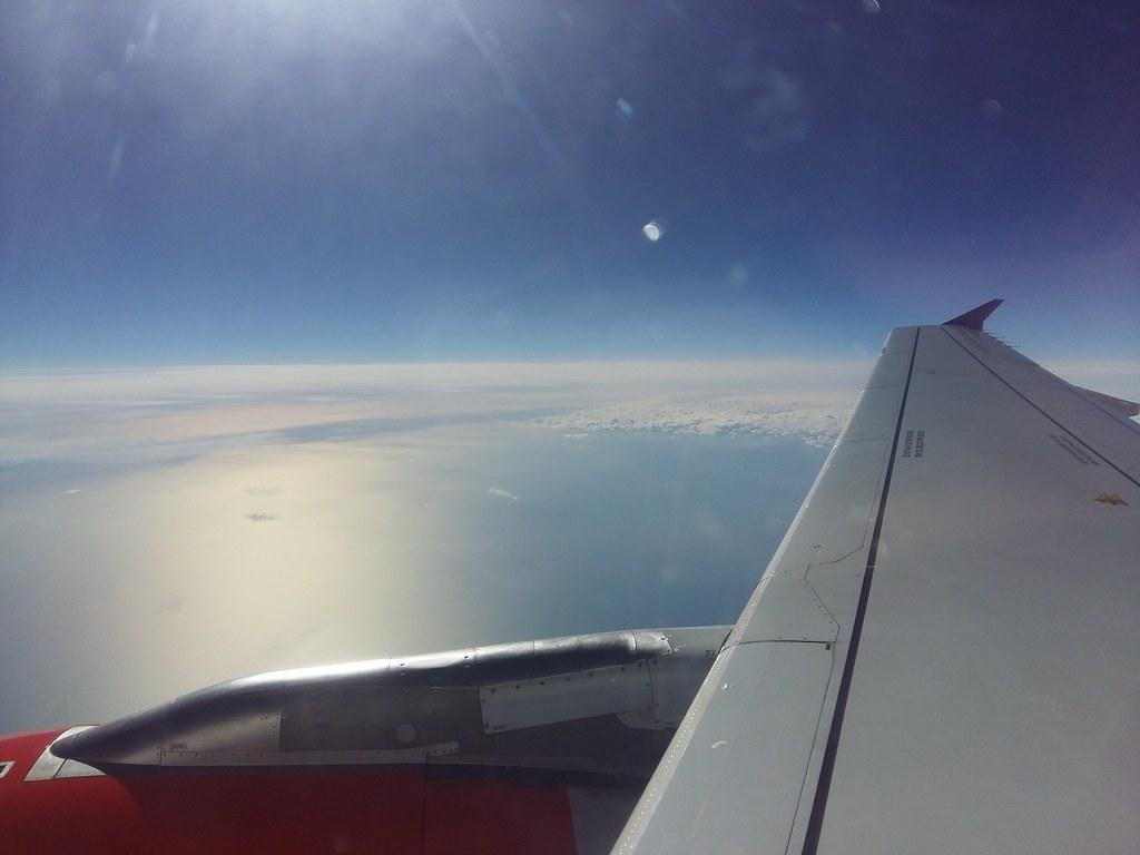 Flight to Copenhagen