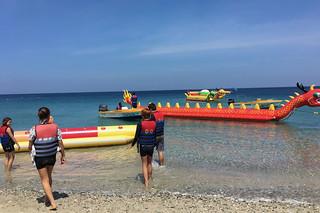 Puerto Galera - Banana boat