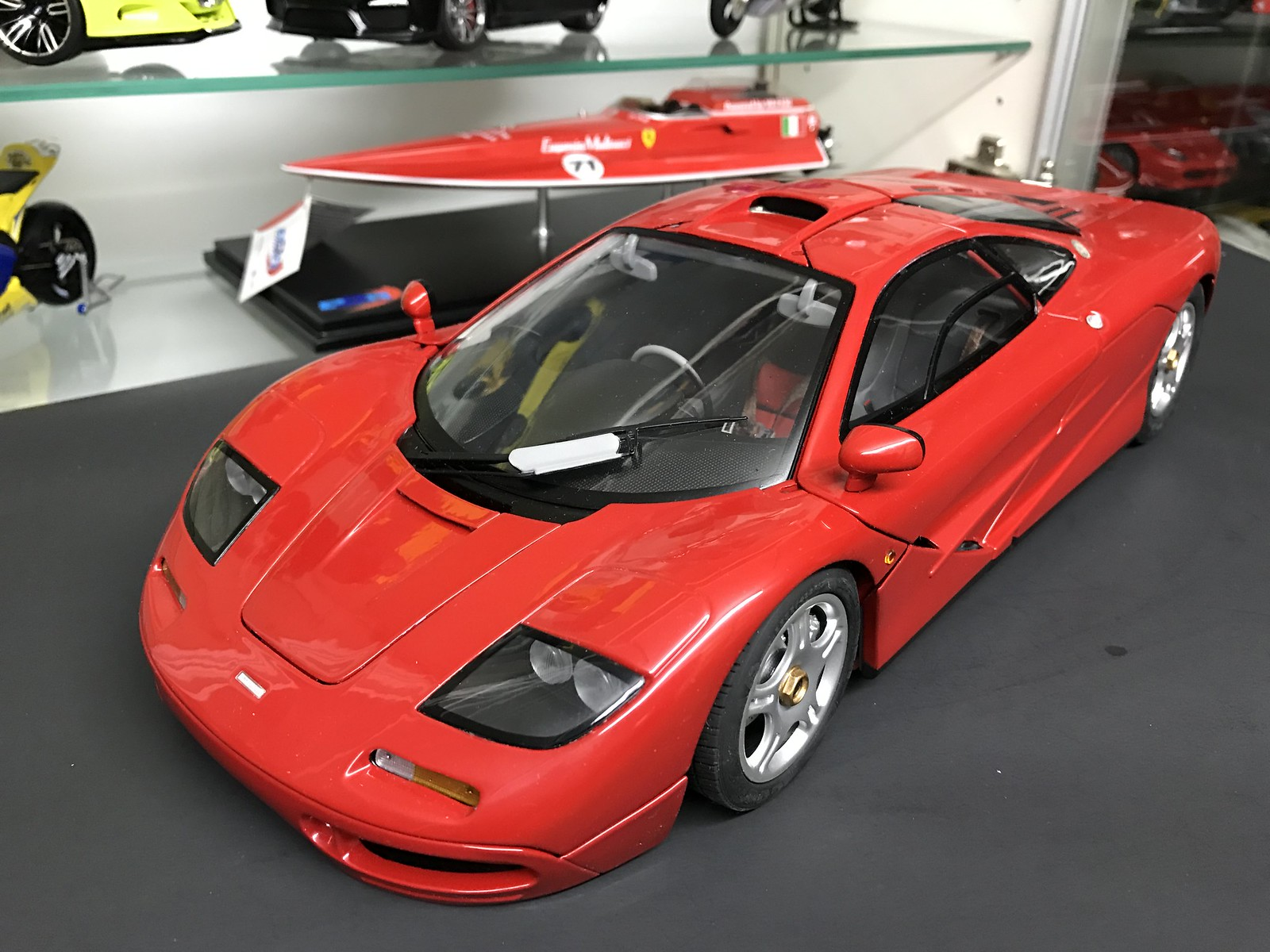 mclaren f1 red. mclaren f1 were a limited run of only 400 pieces in each colour all released the mid 1990u0027s then 2nd 2010 with few mclaren red
