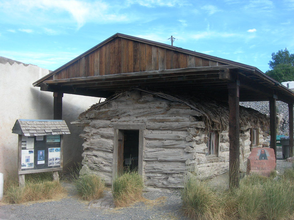 Orrin Porter Rockwell Cabin | Eureka, Utah Rockwell was a ...