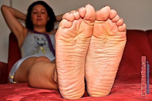 Bbw meaty oily dirty soles