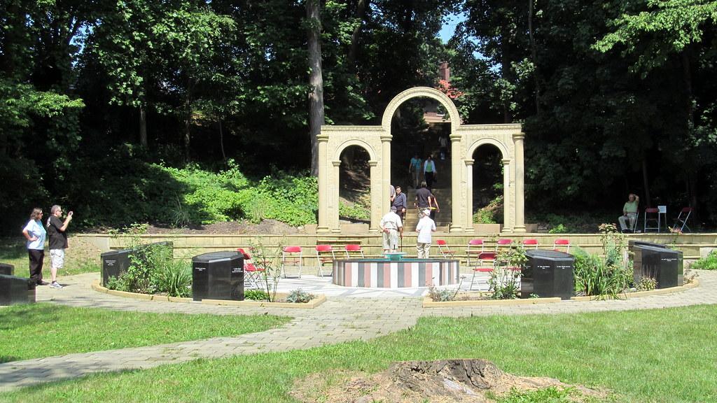 Syrian Cultural Garden - Cleveland, Ohio | The Syrian Cultur… | Flickr