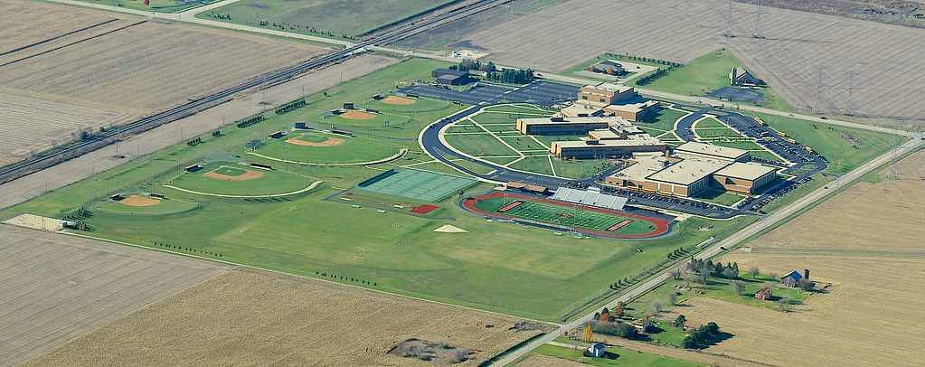 Lincoln Way West High School This Large Beautiful High