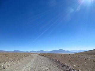 Nearing the Salar de Chalviri and Polques | by Pikes On Bikes