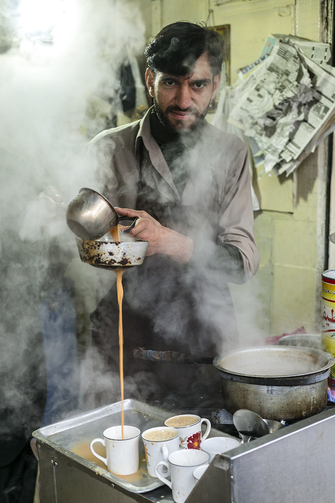 Steamy Kitchen | Steaming hot cup of tea for a traditional P… | Flickr