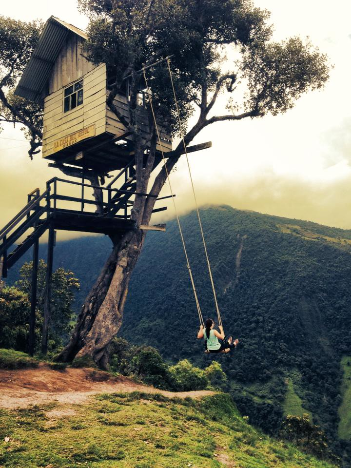 Casa del arbol in banos ecuador bethany ryder ryderbe for Casa del arbol cuenca