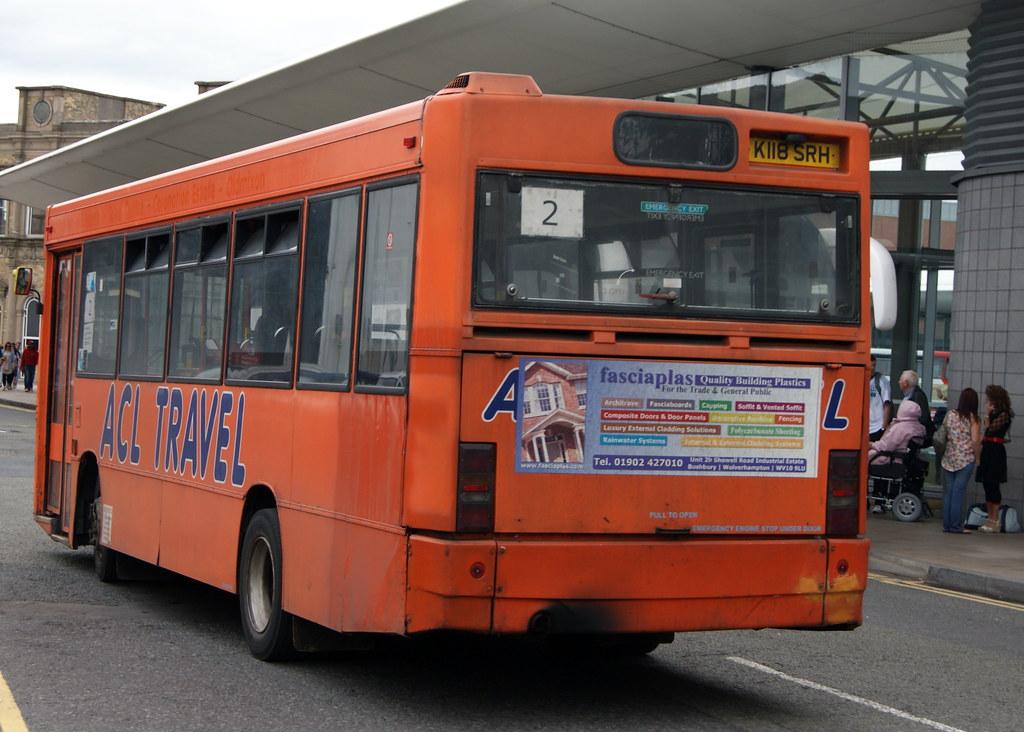 Travel Express 19 K118srh Dennis Dart Plaxton Pointer Ex A