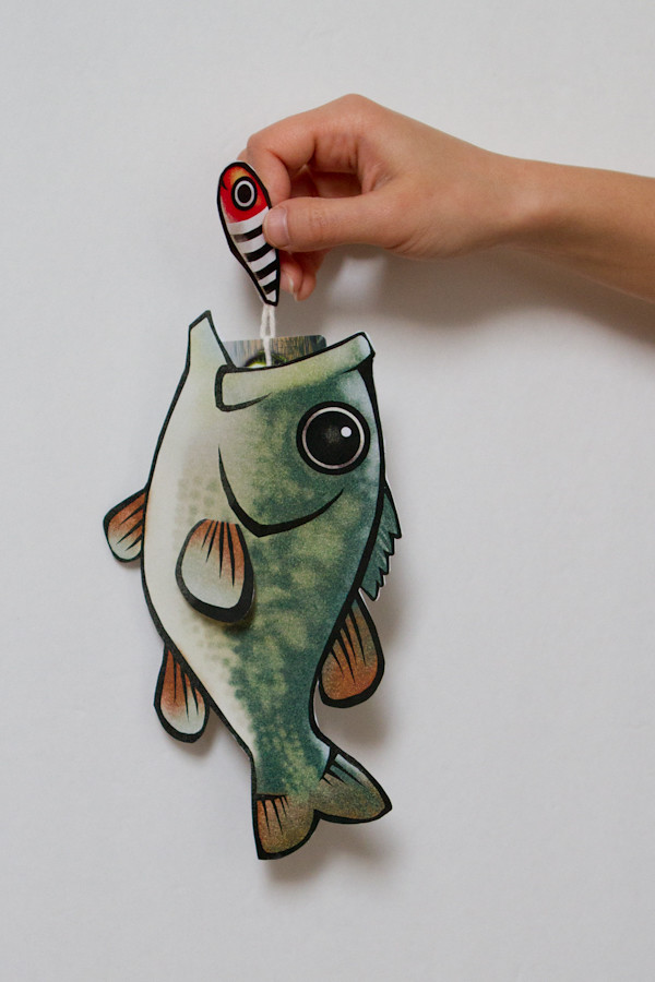 Bass Gift Card Holder