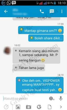 Testimoni Obat Kuat Vig Power Capsule