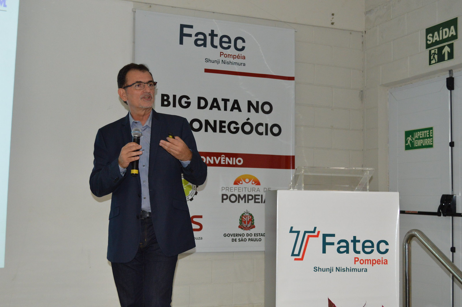 Fatec Pompeia promove aula inaugural do curso de Big Data do Agronegócio