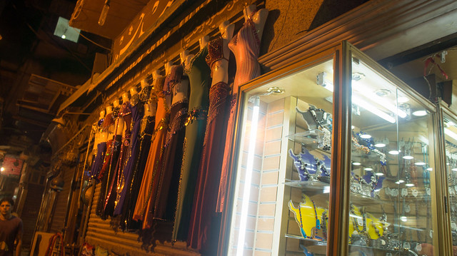 Bally dancing suits of Khan El-Khalili