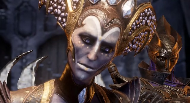 Stiks Krhotine tame - Elf Queen