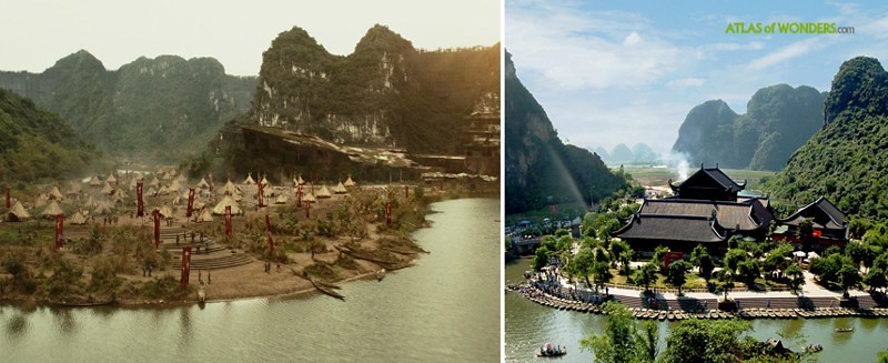 Isla de la película de King Kong
