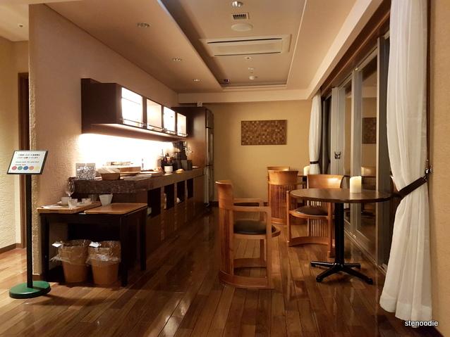 Daiichi Hotel Premium lounge