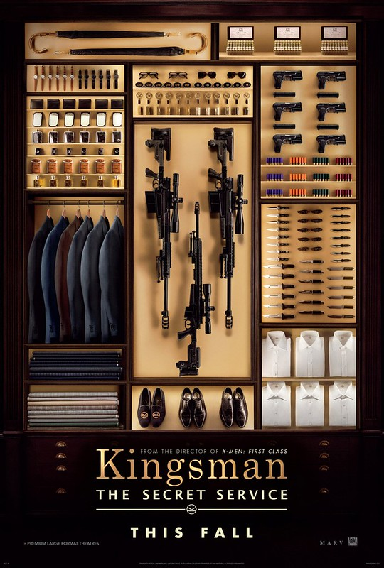 Kingsman - The Secret Service - Poster 1