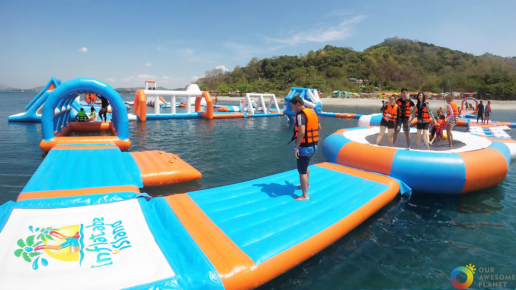Inflatable Island Get Ready To Get Wet At The Wildest Floating Playground This Summer Our