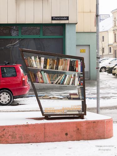 öffentliches Buchregal
