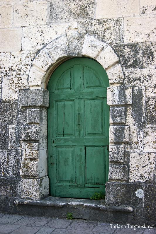 Дверь колокольни