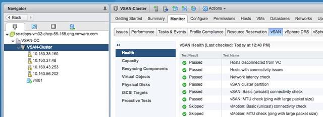 vSAN Health Check fails on vMotion check - Yellow Bricks