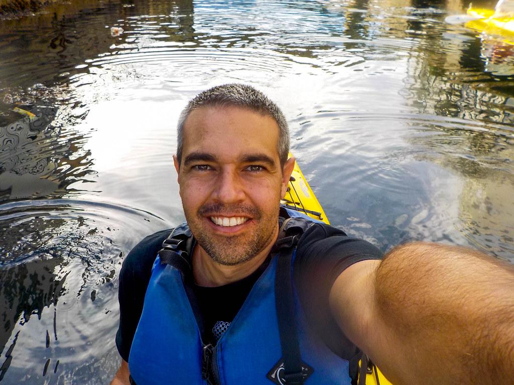 Kayak en Noruega