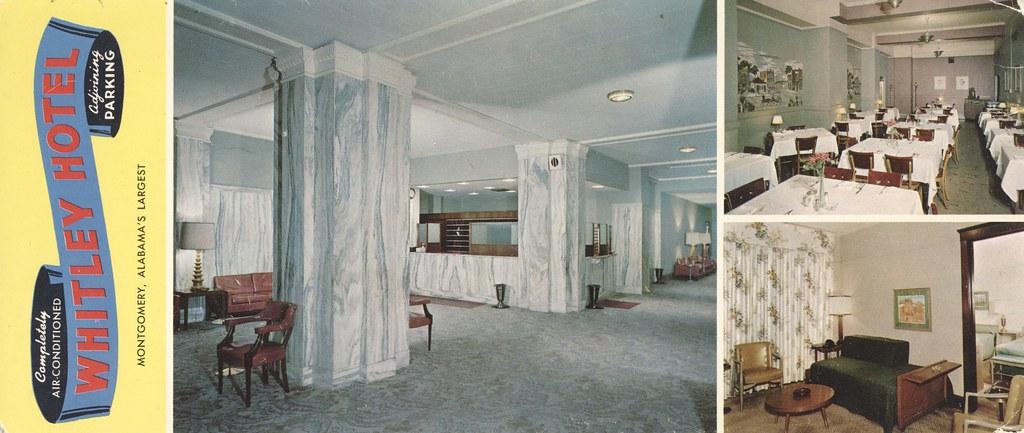 Whitley Hotel - Montgomery, Alabama