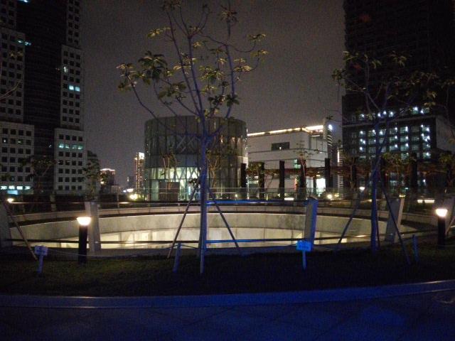 高雄市立図書館の屋上