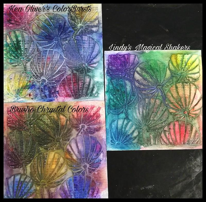 Pigment powders comparison