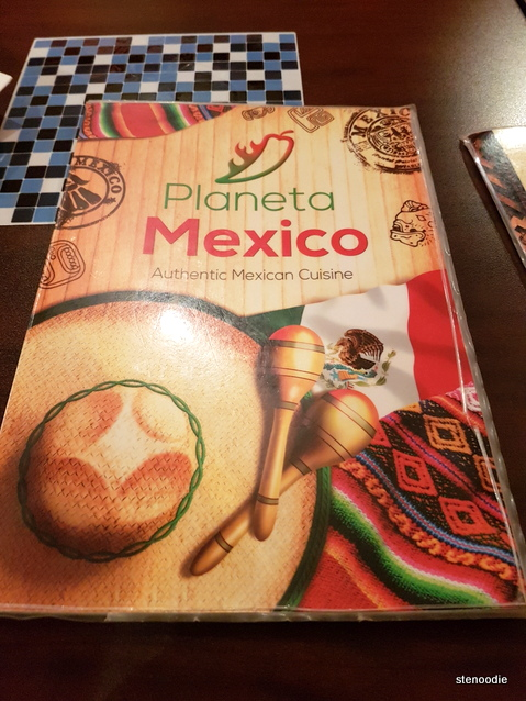 Planeta Mexico menu cover