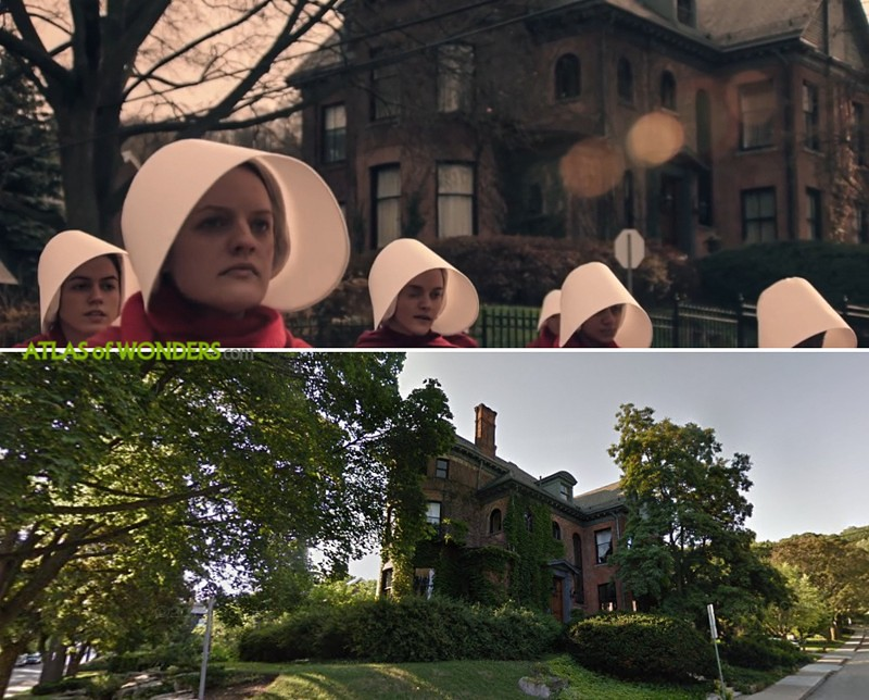 Where is The Handmaid's Tale being filmed