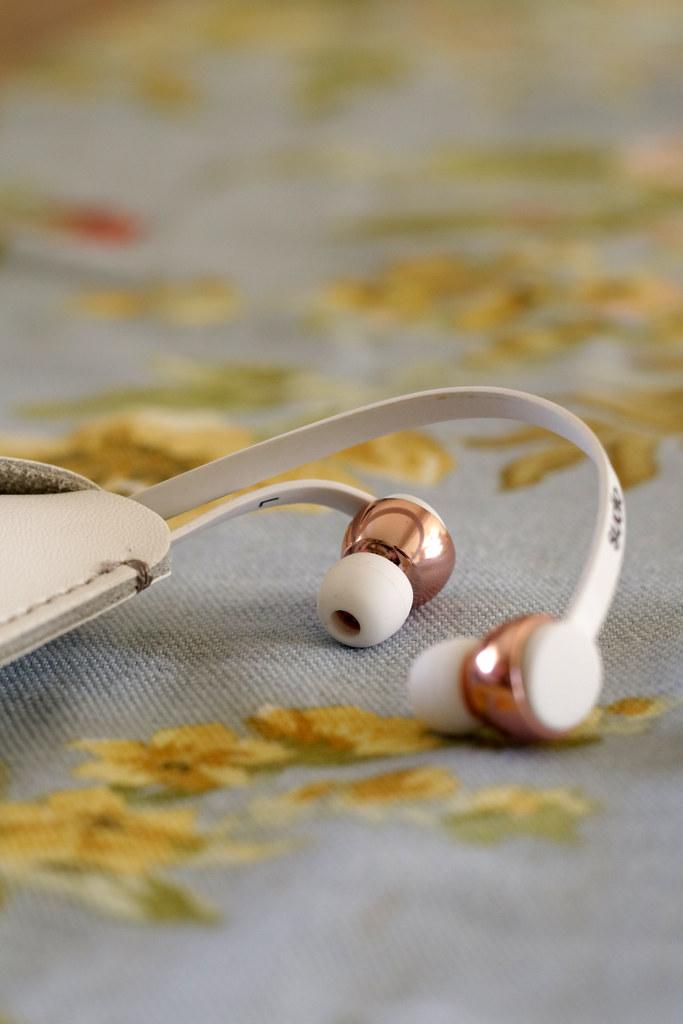 Sudio Rose Gold Headphones