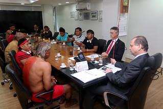Audiência com a Coordenação das Organizações Indiginas da Amazônia Brasileira/COIAB. Brasília, 26/04/2017. Foto: Rodrigo Nunes/MS | por Ministério da Saúde