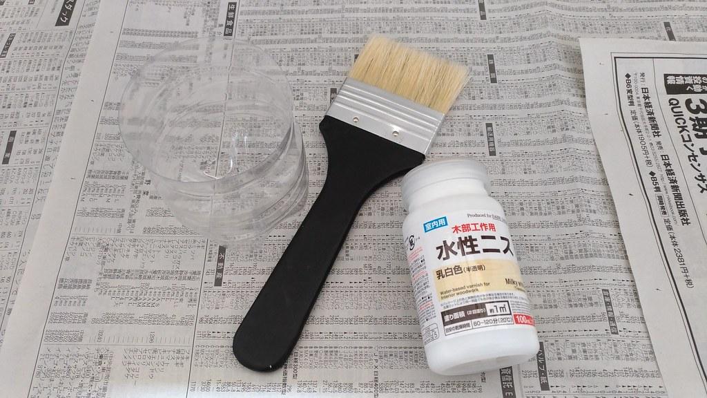塗装材料と道具