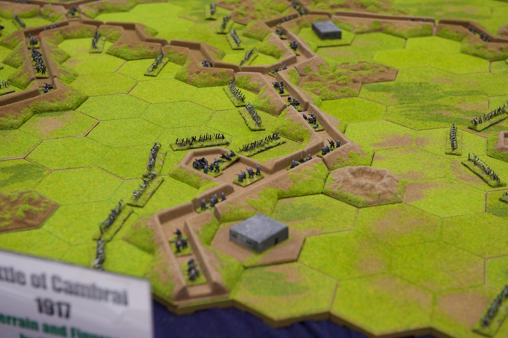 Battle of Cambrain - Close up. 10mm