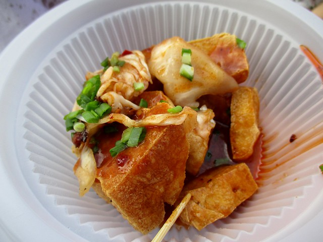 Asian Food Fest stinky tofu