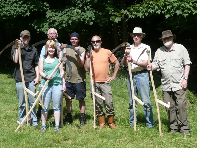 Learn scything courses 2016