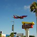 In 'n' Out on Sepulveda - best planespotting location on the planet.