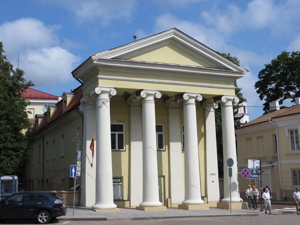 Ionic Columns A Classical Greek Inspired Building With