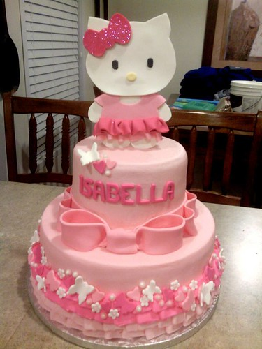 Hello Kitty Cake  by Tasty Cakes by Jennifer