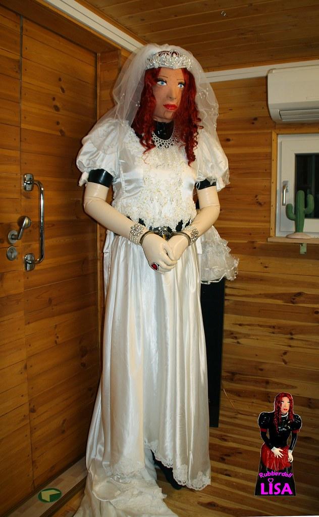 forced feminization wedding bride in handcuffs it is