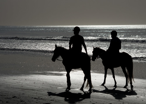 beach horse riding | by *steve booth