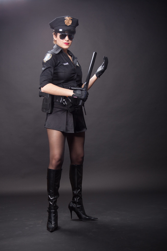 Police Woman Pantyhos 73