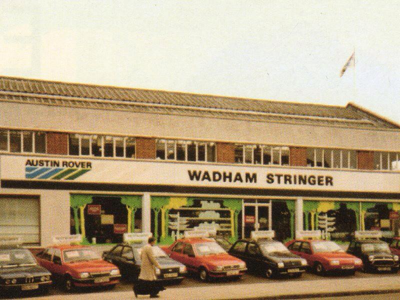 Wadham Stringer Austin Rover Dealership Found This On Th Flickr