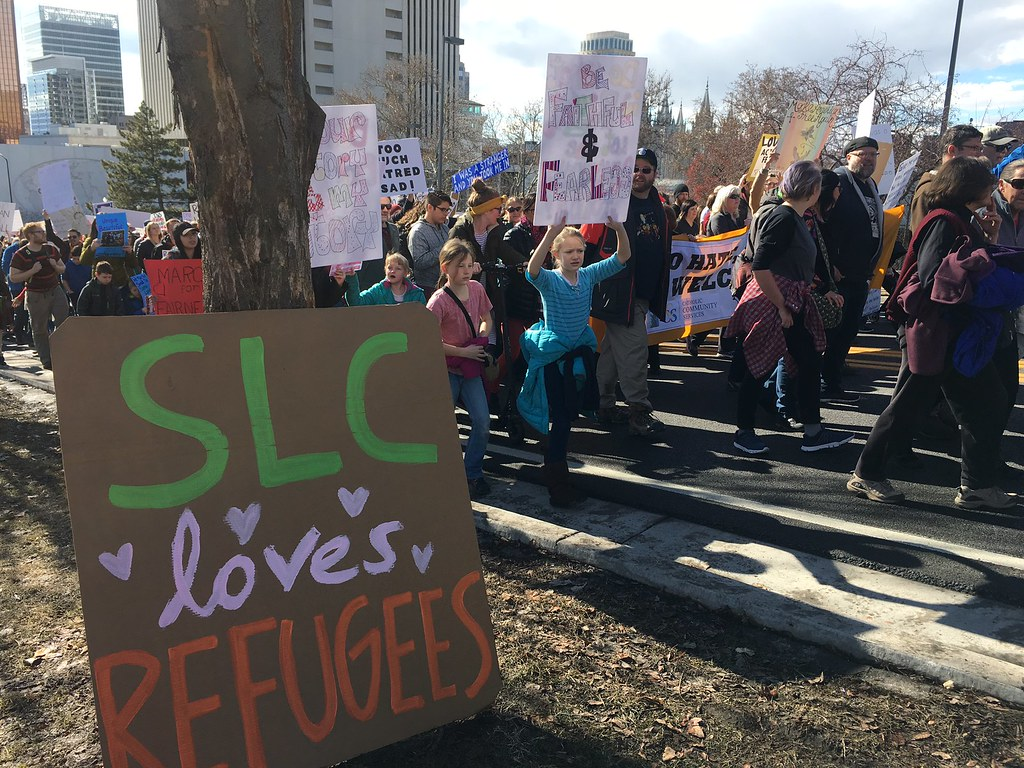 SLC March 4 Refugees