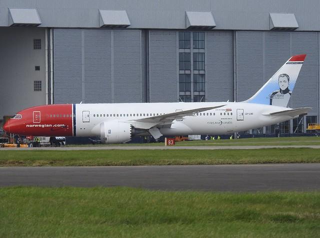 LN-LND Boeing 787-800 Norwegian