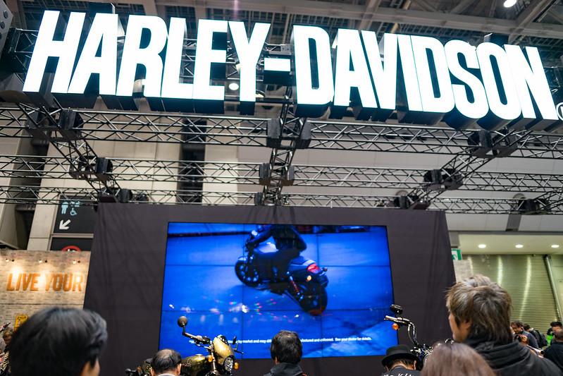 Tokyo MC Show 2017 : HARLEY-DAVIDSON
