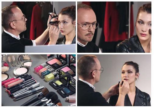 Dior: Peter Philips y Bella Hadid